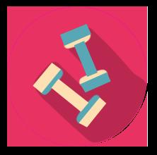 icone educação física